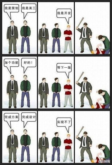 漫画:我是开发者