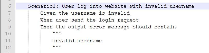图 3 非法用户登录场景