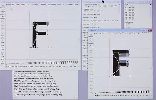"""微软苹果联合开发""""可变字体"""":效果震惊了"""