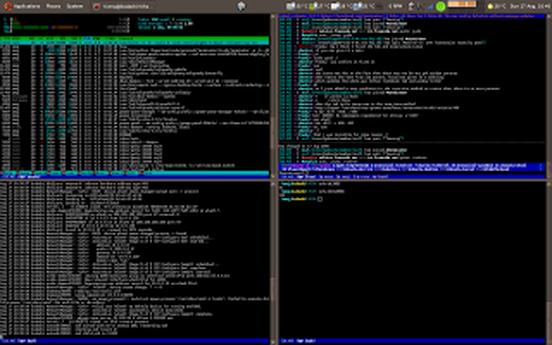 terminator linux terminals