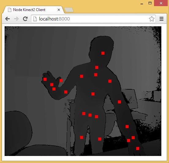通过 Web 访问 Kinect