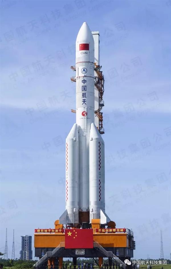 中华第一神剑!长征五号遥二火箭明天发射