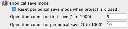 auto-save file