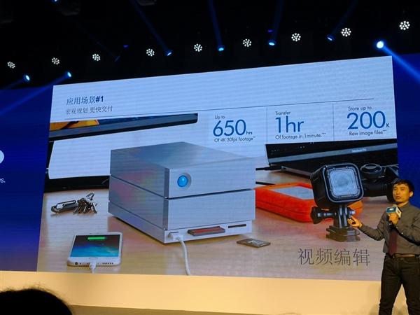 20TB 1.4万元!LaCie发布2big Dock雷电3存储:创意工作神器