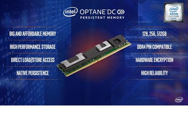 单条最大512GB!Intel开始部署傲腾非易失性内存条
