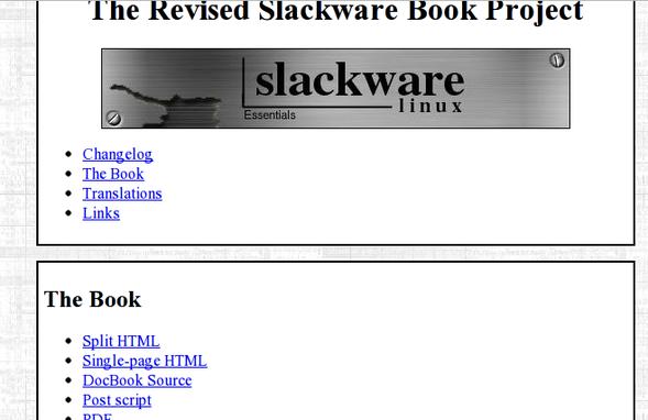 Slackware Linux 手册和文档