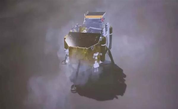 视频:嫦娥四号着陆 史上第一张月背超清近照