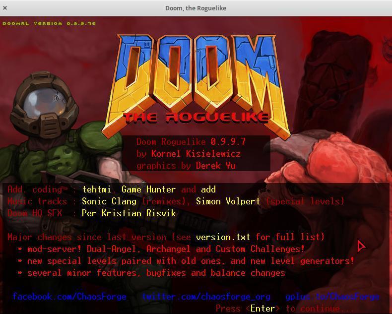 doom ascii game