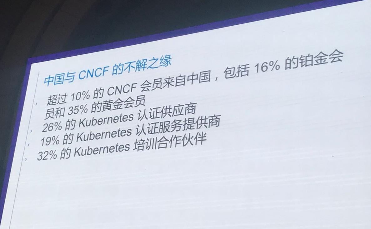 中国与 CNCF 的不解之缘