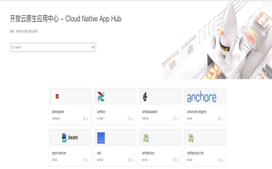 开放云原生应用中心 - Cloud Native App Hub