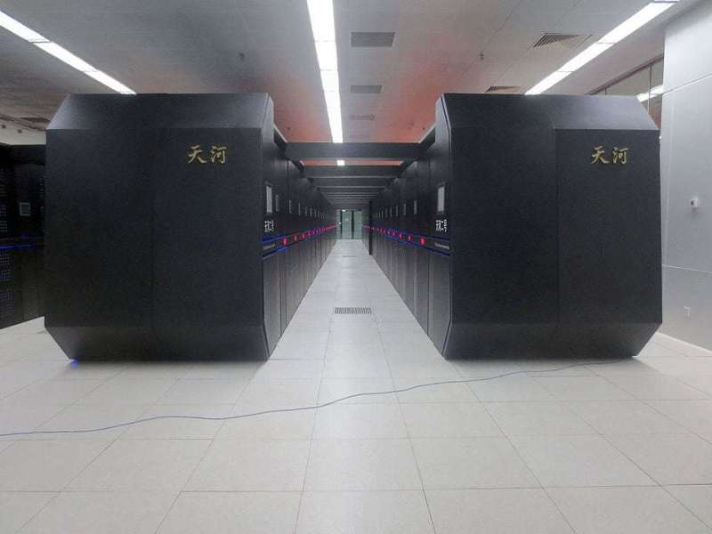 Tianhe-2 Supercomputer. Photo by O01326 – Own work, CC BY-SA 4.0, https://commons.wikimedia.org/w/index.php?curid=45399546