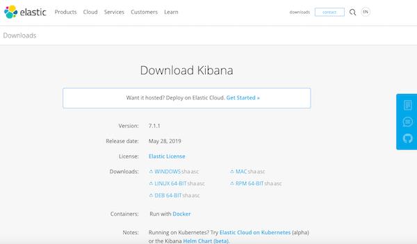 Download Kibana here.