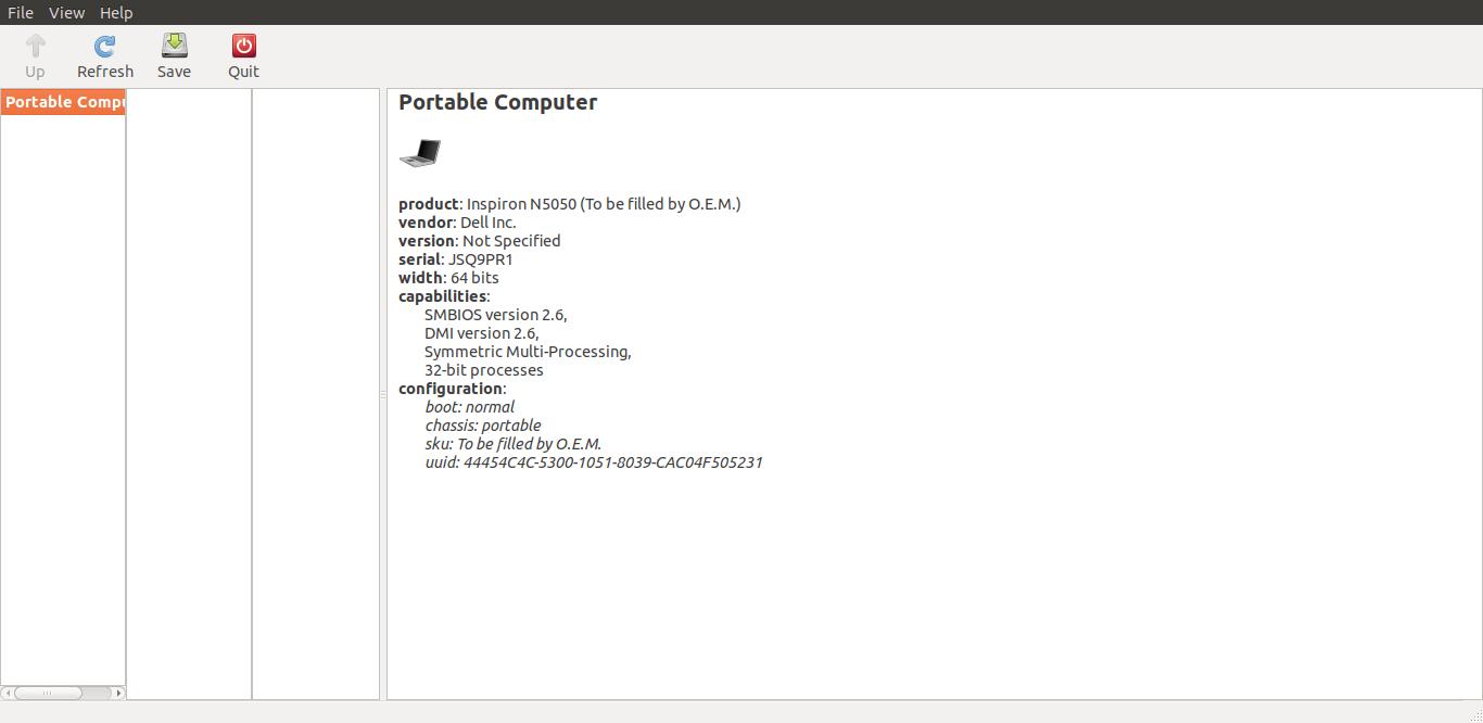 使用 lshw-gtk 在 Linux 上查找硬件
