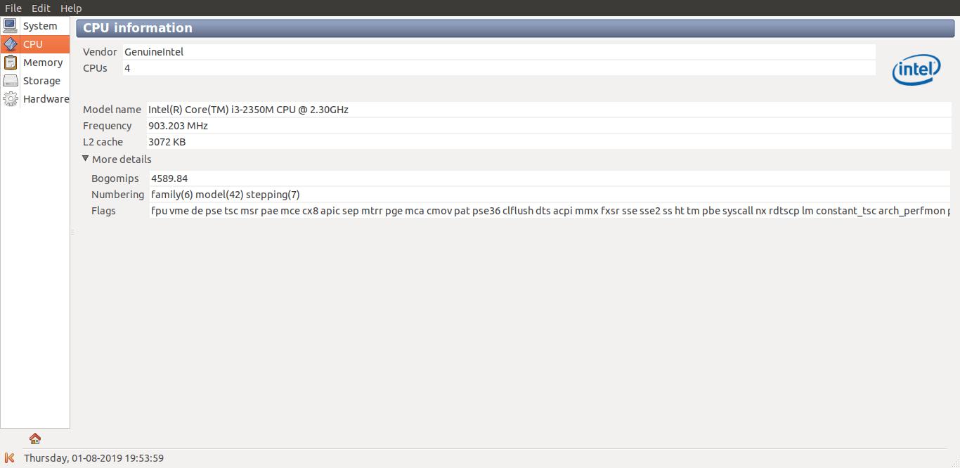 使用 Sysinfo 在 Linux 上查找硬件
