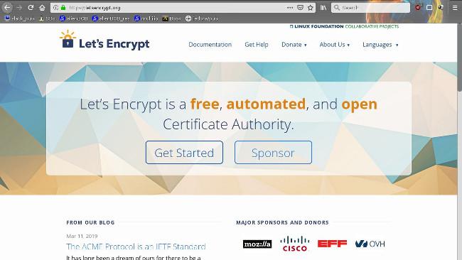 Let's Encrypt website