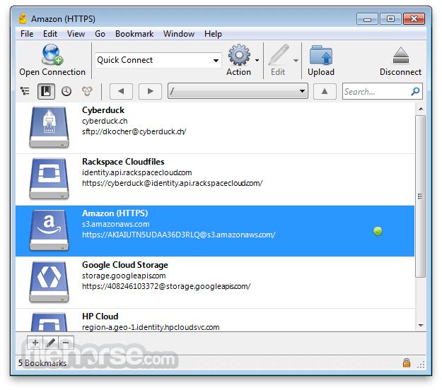 Cyberduck for Windows 7.1.0 Screenshot 1