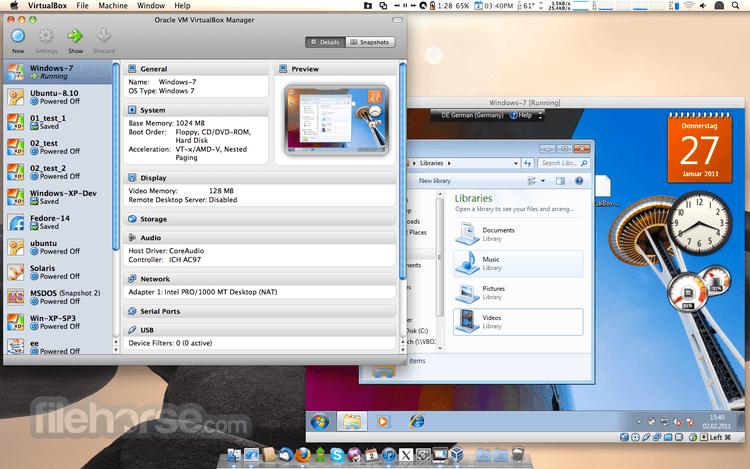 VirtualBox 6.0.12 Build 133076 Screenshot 2