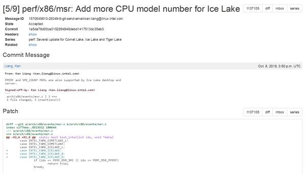 Intel 10nm桌面版稳了:Linux内核已支持