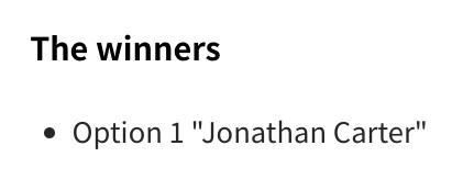 Jonathan Carter 当选新一任 Debian 项目负责人