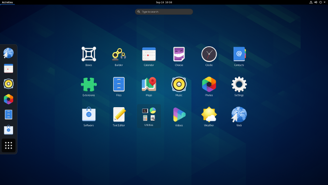 GNOME 3.38 Application Overview