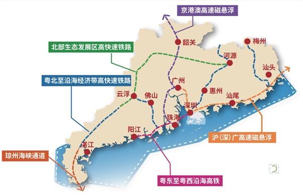 沪深广磁悬浮要来了!深圳至北京只要3.6小时