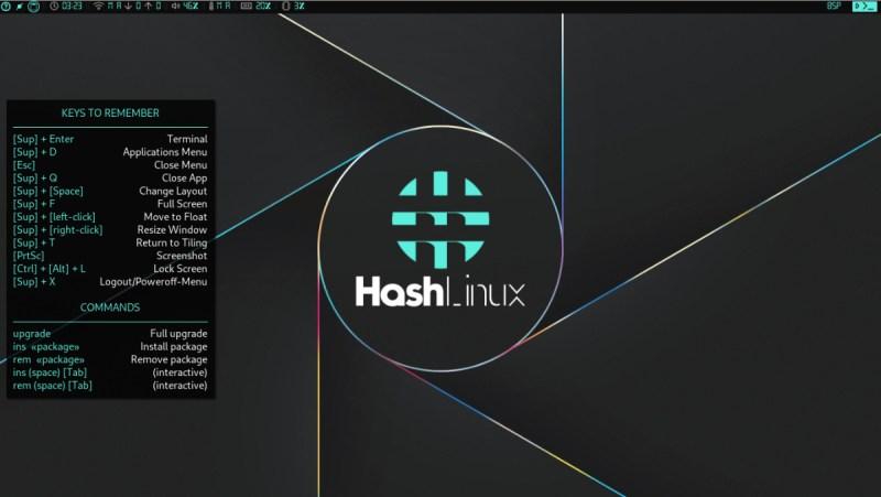 Hash Linux