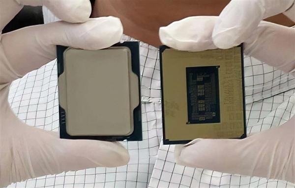 """Intel首次官方展示12代酷睿实物:""""7nm""""终于来到桌面"""